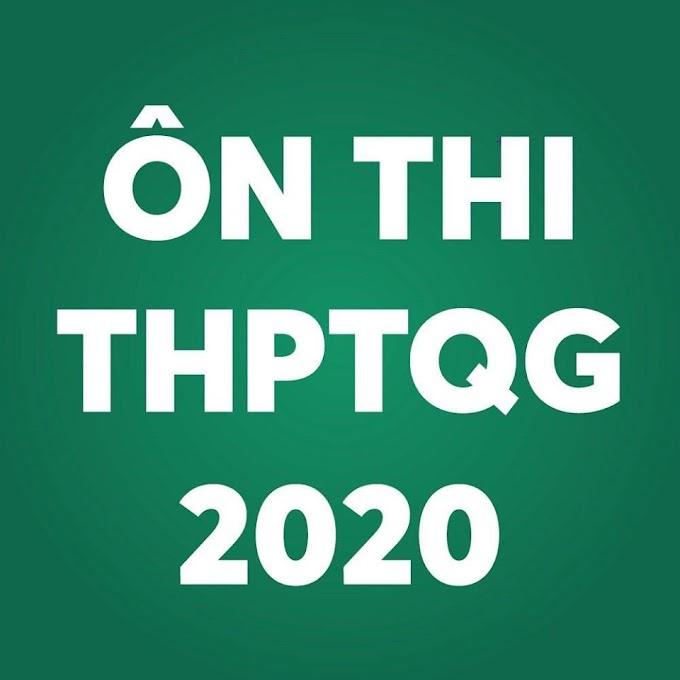 Tài liệu luyện thi THPTQG 2020 Môn Tiếng Anh File Word cho GV update liên tục