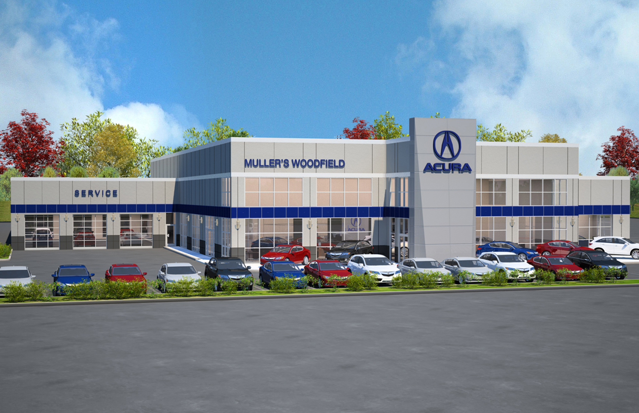 Mullers Woodfield Acura >> Brand New Muller S Woodfield Acura To Open This Summer Muller S
