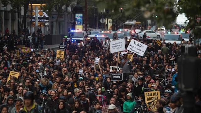 Continúan las protestas en EEUU contra violencia policial contra negros