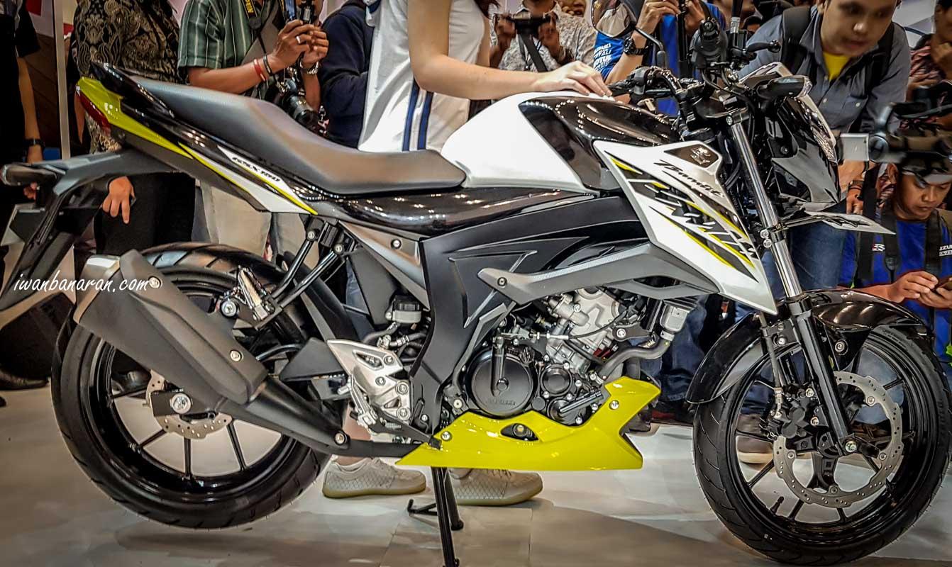 Suzuki Indonesia resmi merilis GSX-150 Bandit, joknya sudah tandem sob !