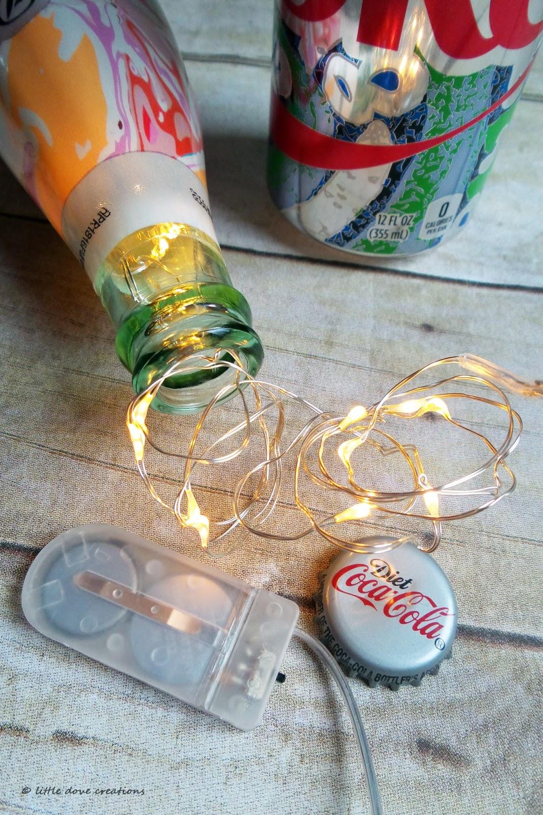 Little Dove Creations Uniquely Mine Diet Coke Lamp