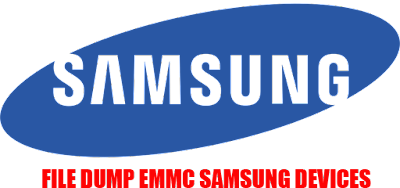 File Dump EMMC ALL Samsung Smartphone Android