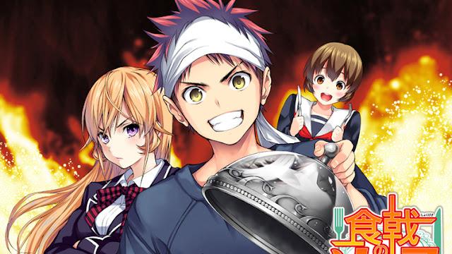 Nueva OVA de Shokugeki no Soma: Vídeo promocional