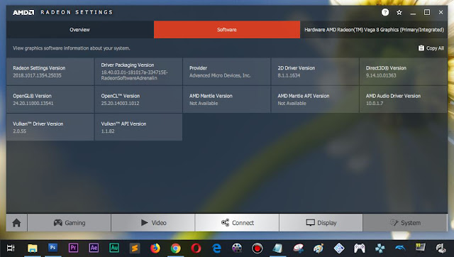 AMD Radeon versi paling baru