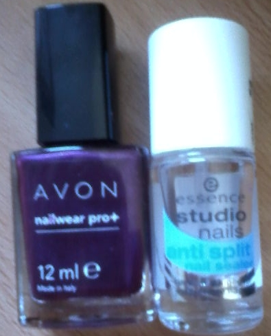 3be3570f5c Avon + Essence studio nails anti split nail sealer