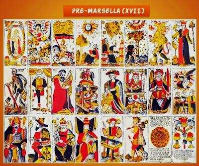 Tarot Pre-Marsella- XVII