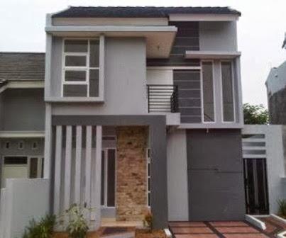 desain rumah mungil 2 lantai inspiratif | desain rumah