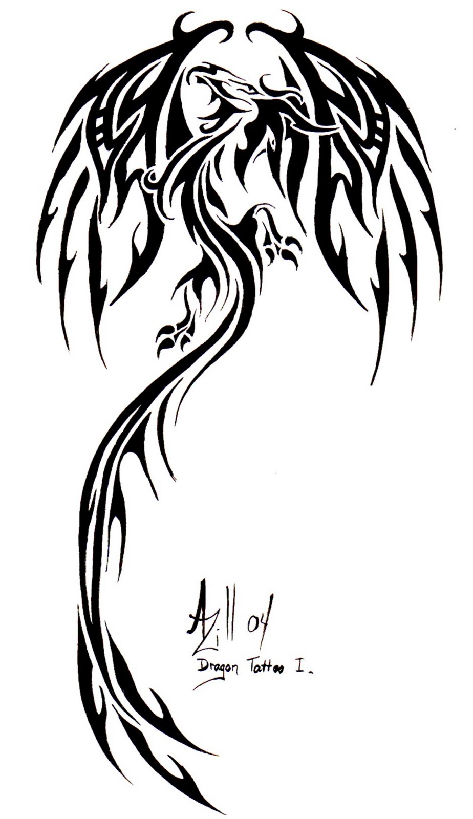 Henna Tattoo Tribal Designs Dragon: Tribal Dragon Chinese Ideas:Slodive Tattoos