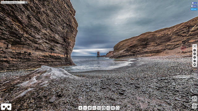 Hidden Beach/Grebe's Nest Virtual Tour by Brian Carey