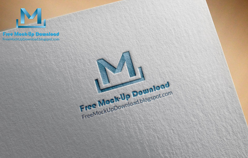 This Is A Logo Mock Up Template Contains 2 Different Style Of Photoshop Mockup PSD Files Its Paper