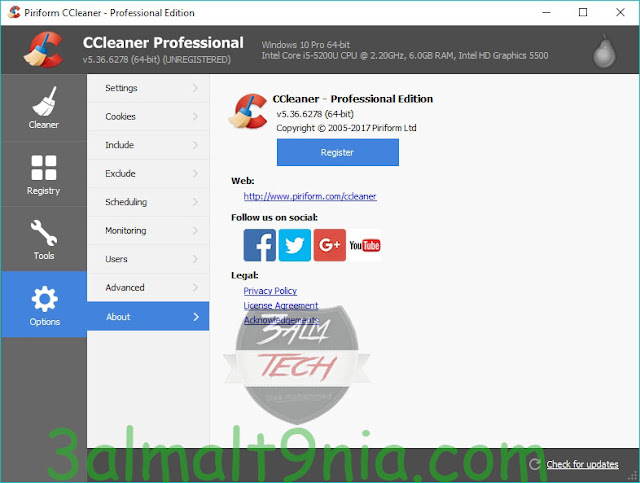 CCleaner 5.37.6309 Professional