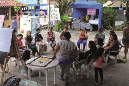 VII Feira de Economia Solidária e IV Encontro de Arte e Cultura em Cananéia