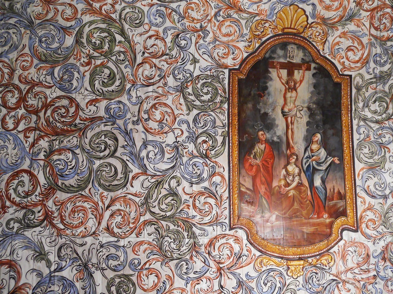 wyposażenie kościoła, Gościeszowice, ukrzyżowanie, sztuka sakralna
