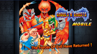 Capcom brings Ghouls'n Ghosts MOBILE to the Play Store