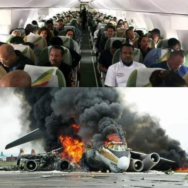 Ethiopian Airline :   THE LAST 6 MINUTES OF EVERY MAN  .