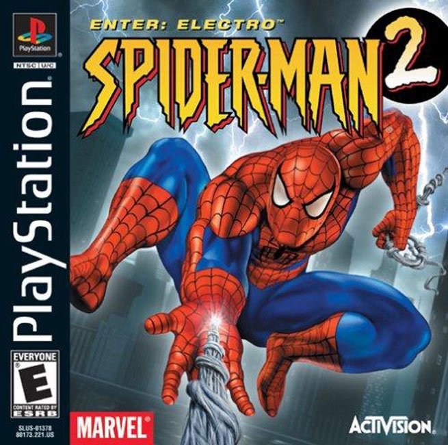 Spider-Man 2 - Enter - Electro - PS1 - ISOs Download