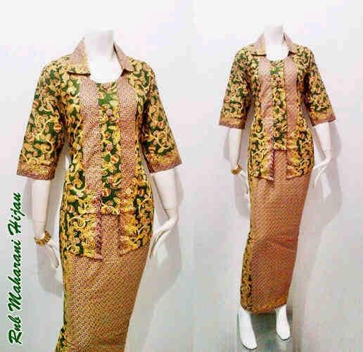 Toko Baju Batik Solo: Model Baju Batik Pramugari Motif Maharani