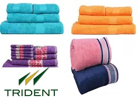 Trident Towels – Big Saving Minimum 50% off (Limited Period Deal)
