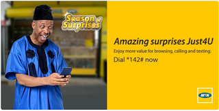 MTN Surprise Season –  Get Your Free Offer By Dialing This Code