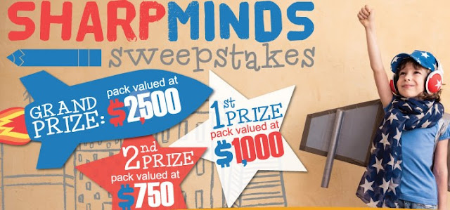 Bostitch appreciates and applauds everything that teachers do to sharpen kids' minds so they are giving teachers the chance to win one of three mind-blowing prize packs!