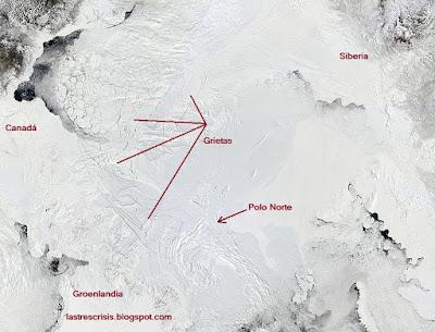 """El calentamiento global y """"el niño"""" llevan al colapso al hielo polar"""