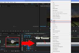Cara Menghilangkan Bunyi Pada Video Dengan Adobe Premiere