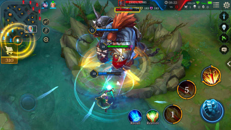 Game MOBA, Arena of Valor