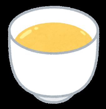 卵酒のイラスト