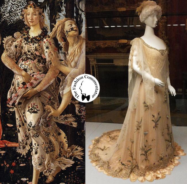 Donne protagoniste del Novecento - Rosa Genoni abito Primavera - Galleria del Costume Firenze - Nov 2013