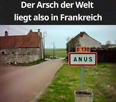 Der Arsch der Welt liegt also in Frankreich, Anus