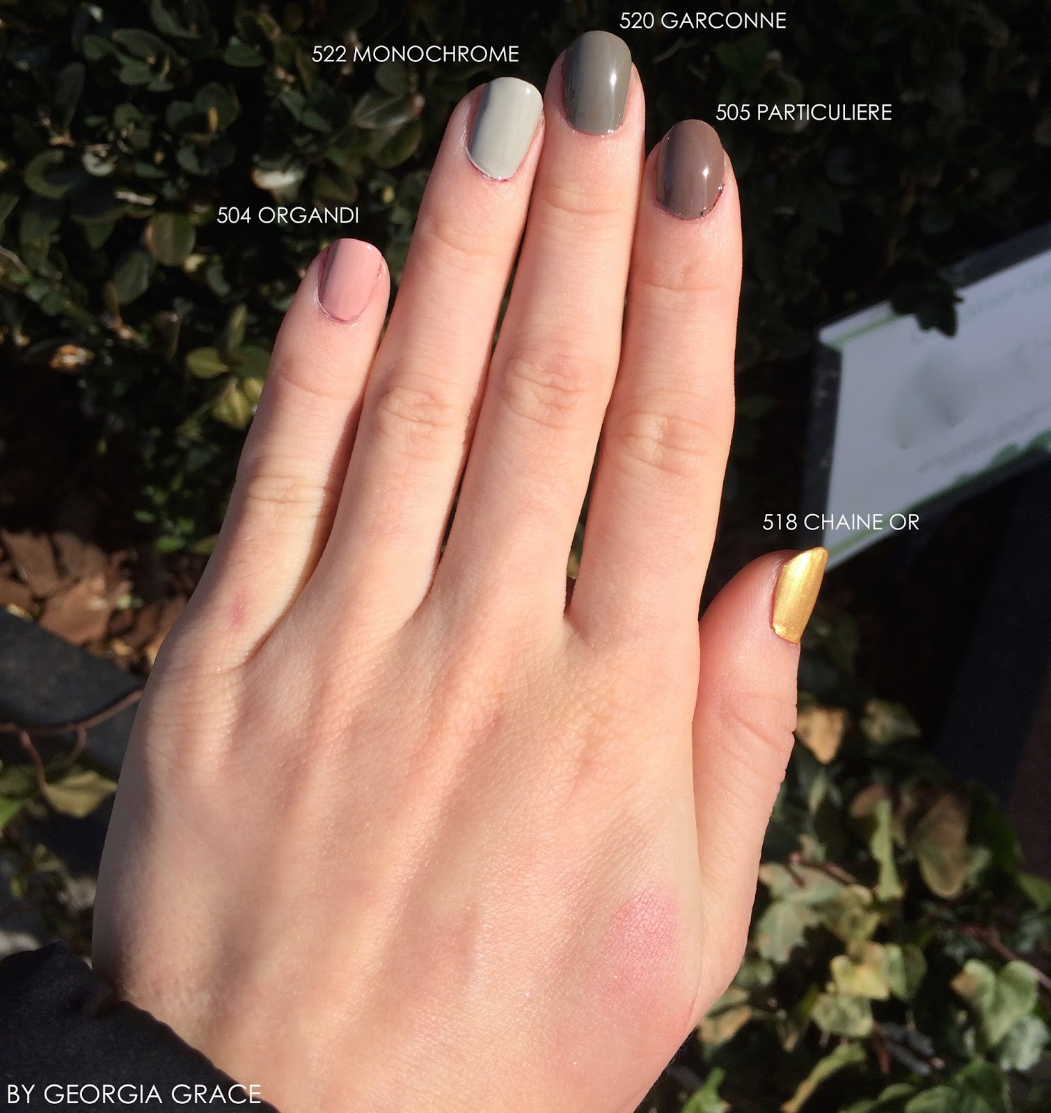 Chanel NEW Le Vernis Longwear Collection Swatches & Review | By ...