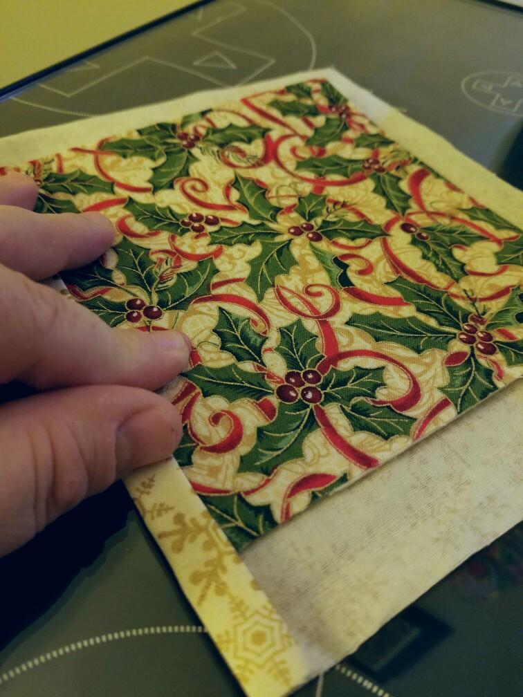 Fold'n Stitch Wreath Shortcut Tutorial Simple Fold And Stitch Wreath Pattern