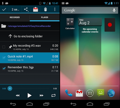 Free Download Easy Voice Recorder Pro v2.2.1 APK