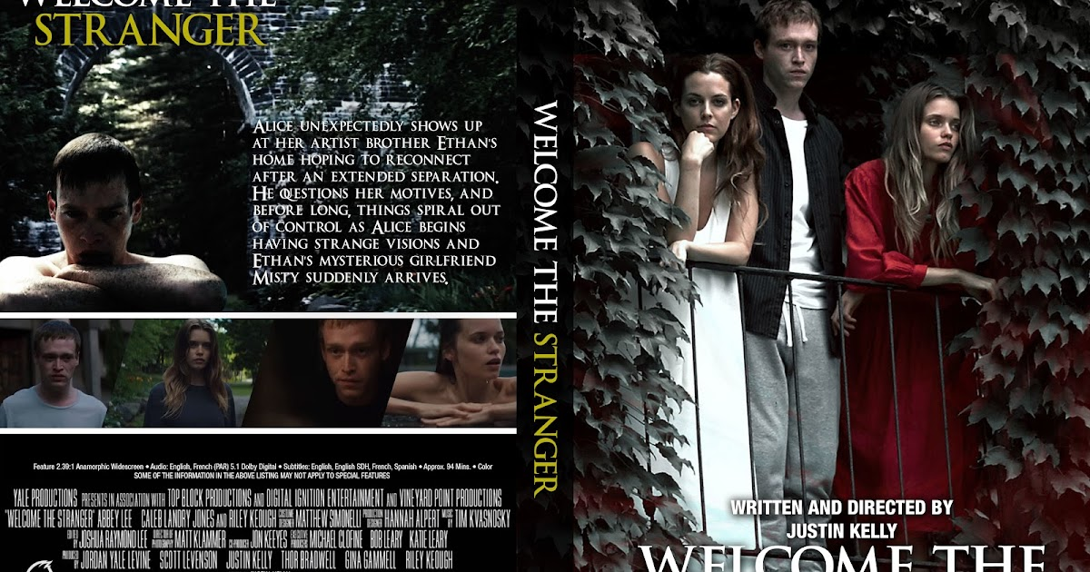 welcome the stranger dvd cover cover addict dvd and