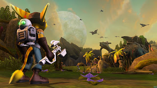 Ratchet & Clank PS3 Background