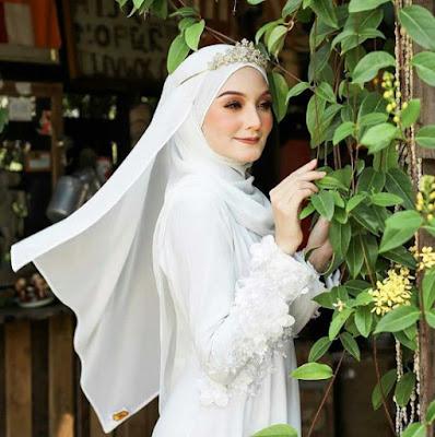 model hijab pengantin modern terbaru