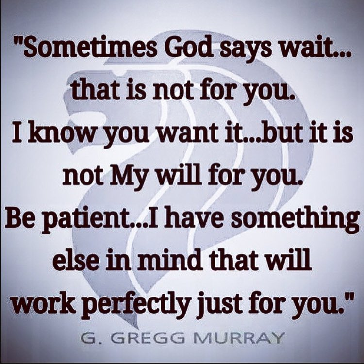 What does it mean to wait on god