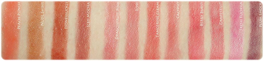 Avon Shine Burst Lipstick Review And Swatch Evelena Stories In Bloom