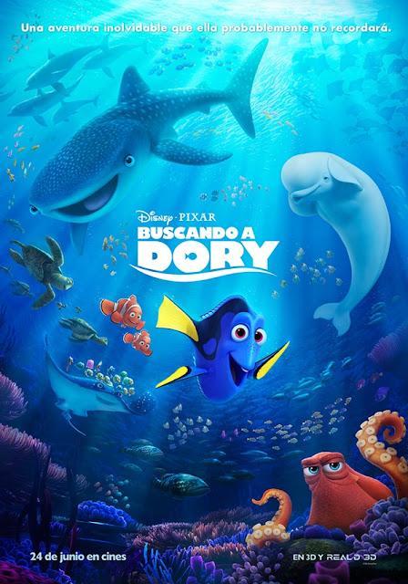 Buscando a Dory (2016) DVDRip Español Latino