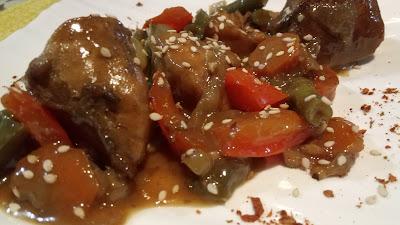 Chicken recipe-Stir fry chicken with vegetables