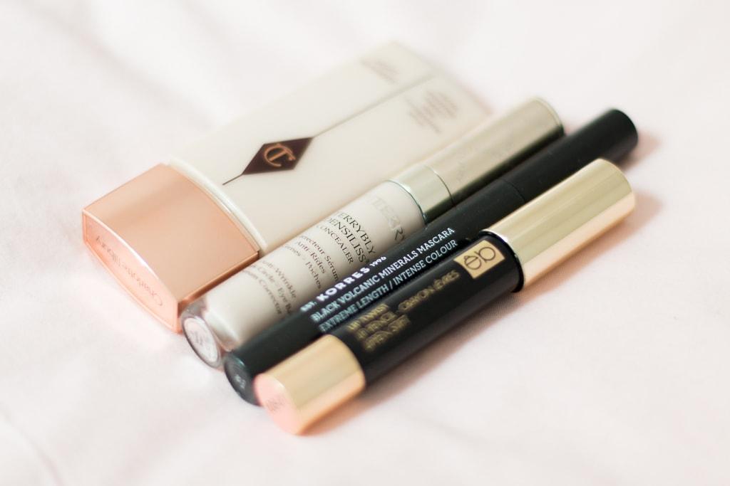 Minimalistisches Make-up am Wochenende