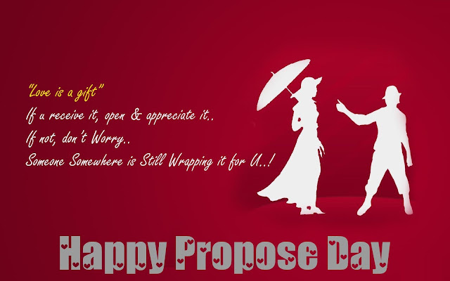 Happy Propose Day Saying for boyfriends.