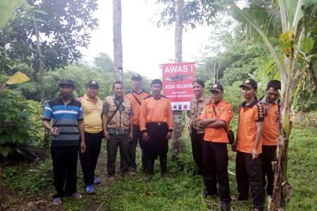 BKSDA Jateng Peringatkan Serangan Buaya di Sungai Luk Ulo Kebumen