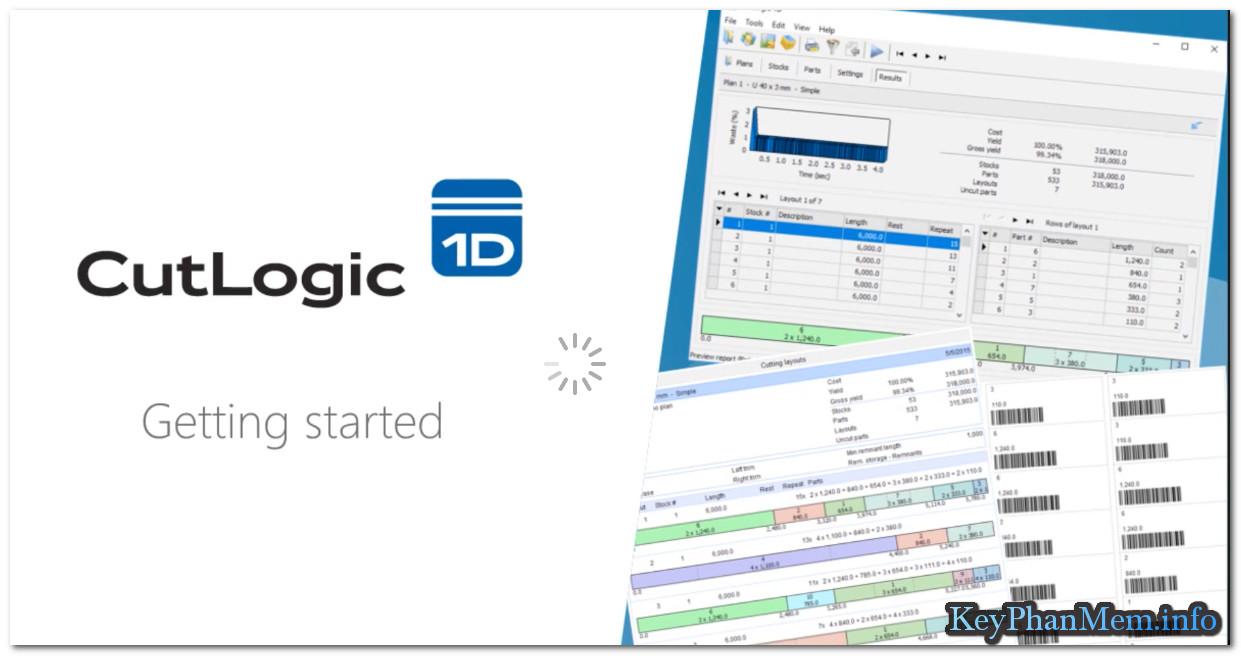 """CutLogic 1D 5.3.1 Enterprise Full Key, Phần mềm """"tiết kiệm tiền cho doanh nghiệp """""""