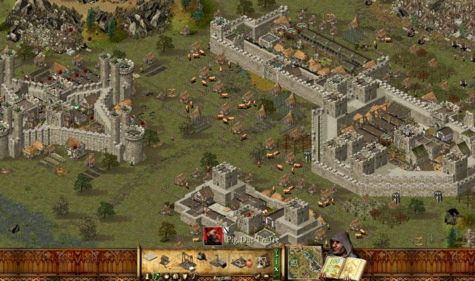 Game RTS PC - Stronghold