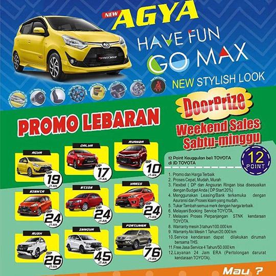 Promo Toyota Citeureup Bogor