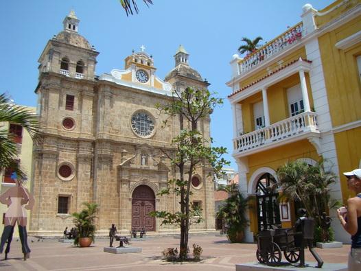 La Catedral de Cartagena de Indias