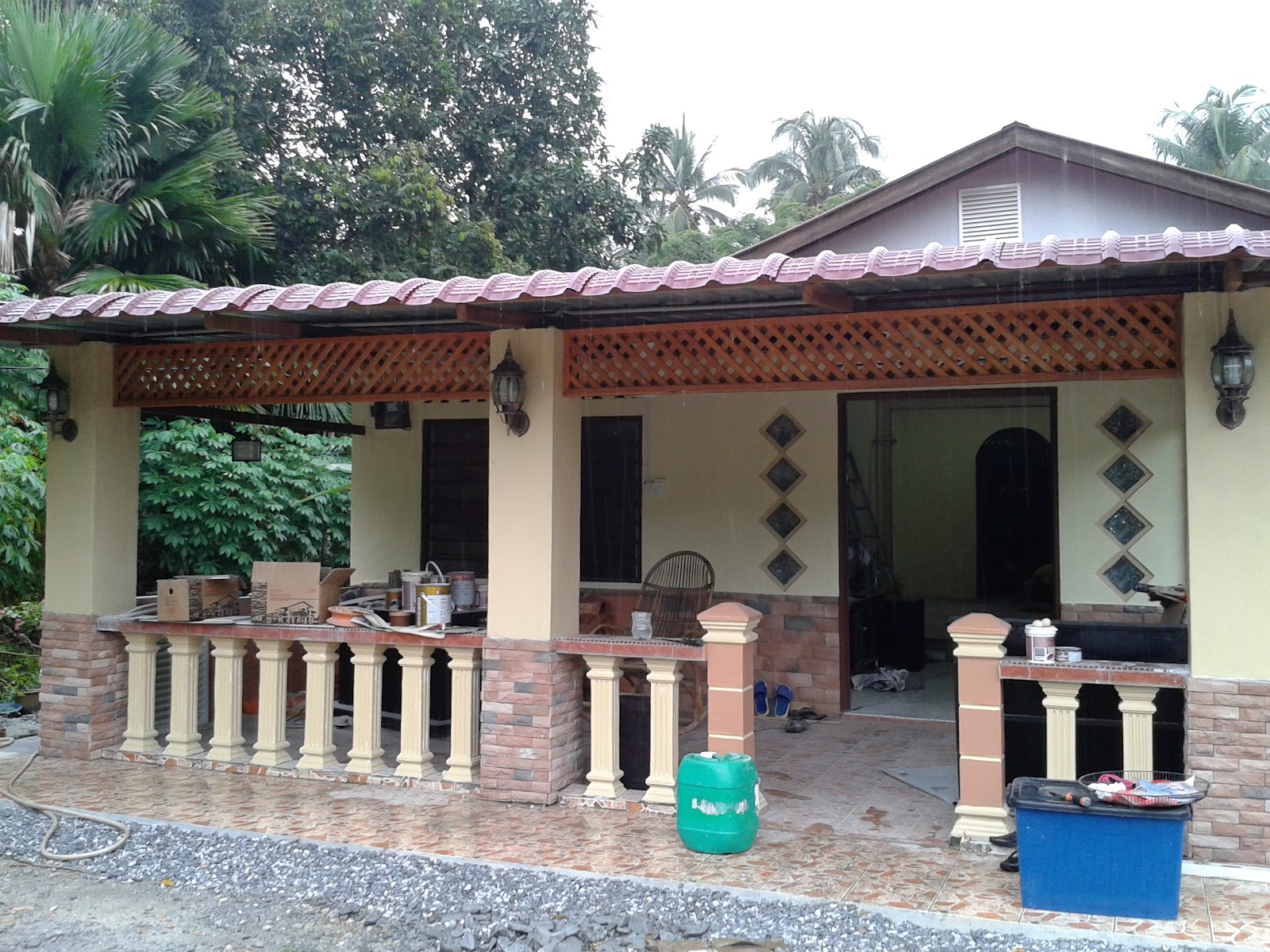 Balik Kampung En Suami Pasang Mozek Uhh Penat Pupeliyana