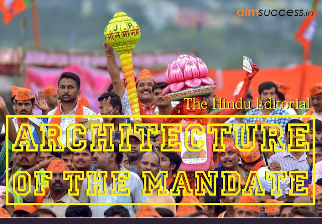 Architecture Of The Mandate: The Hindu Editorial