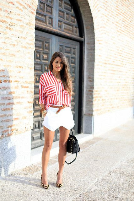 Canada Day Style Part Three: Red and White Canadian Day Outfit